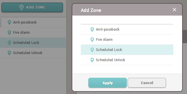 How to configure a Scheduled Lock/Unlock Zone [Knowledge Center]